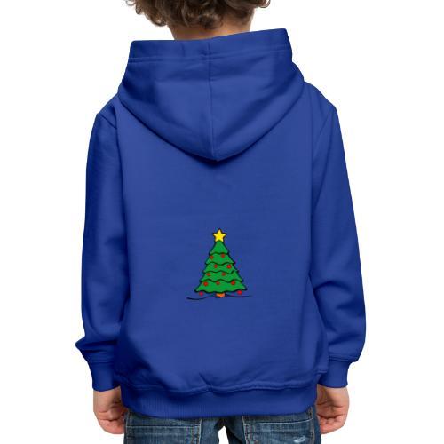 Christmas-Tree - Kinder Premium Hoodie