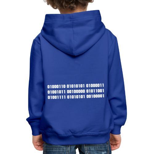 Fuck you binary code - Kids' Premium Hoodie