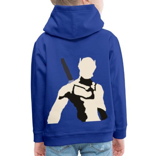 Genji - Bluza dziecięca z kapturem Premium