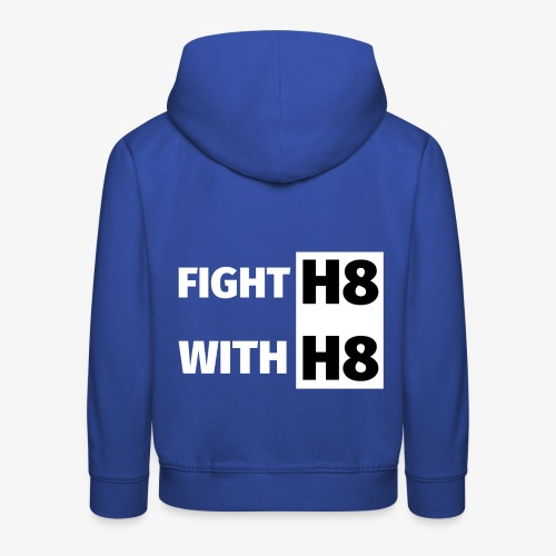 FIGHTH8 bright - Kids' Premium Hoodie