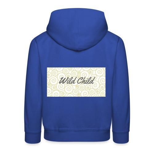Wild Child 1 - Kids' Premium Hoodie
