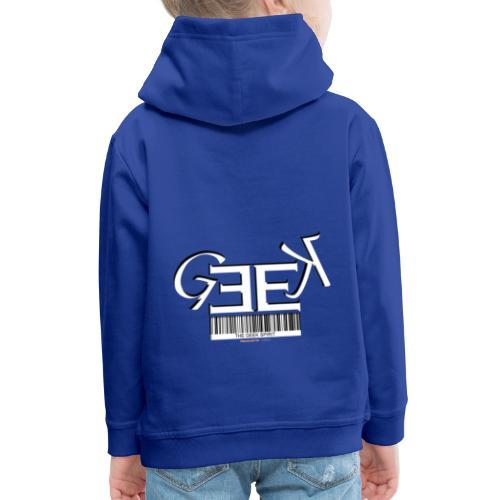 GEEK II - Pull à capuche Premium Enfant