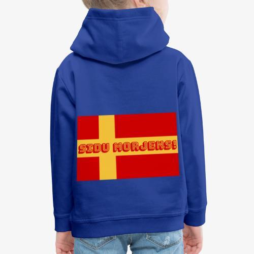 Sidu morjens! flagga - Premium-Luvtröja barn