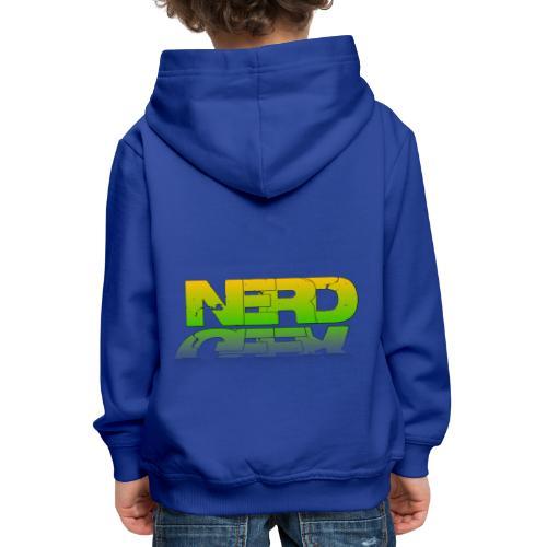 nerd geek - Pull à capuche Premium Enfant