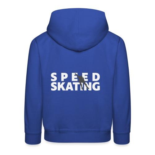 Speedskating Skater - Kinder Premium Hoodie