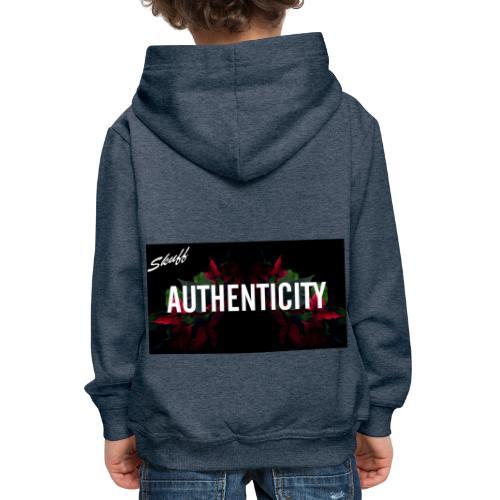 Authenticity - Pull à capuche Premium Enfant