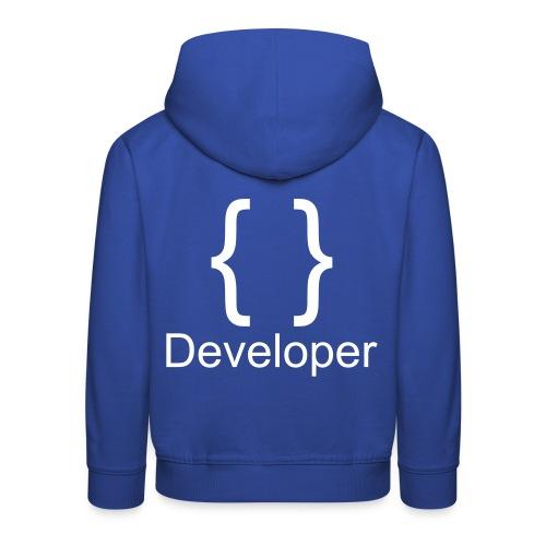 Developer - Kinder Premium Hoodie
