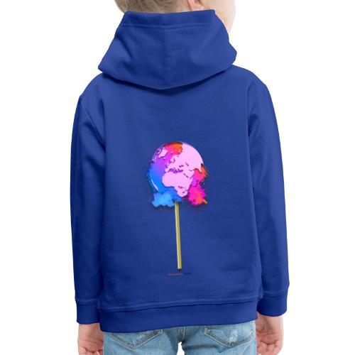 TShirt lollipop world - Pull à capuche Premium Enfant