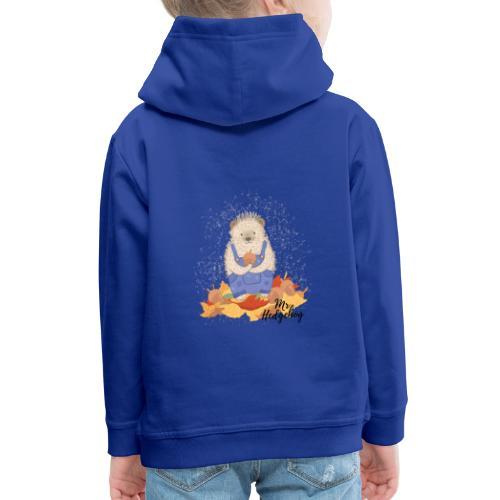 Mr Hedgehog - Kids' Premium Hoodie