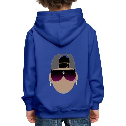 Logo de adhex marca youtube - Sudadera con capucha premium niño