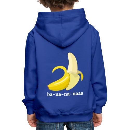 Lustiges Bananen Shirt - Kinder Premium Hoodie
