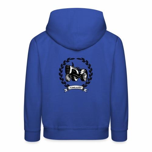 KonradSB - Bluza dziecięca z kapturem Premium