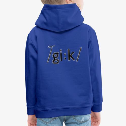 GEEK V2 - Kids' Premium Hoodie