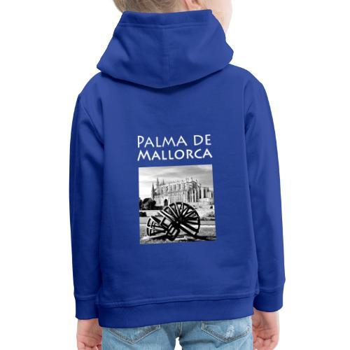Palma de Mallorca mit Cathedrale Heiligen Maria - Kinder Premium Hoodie