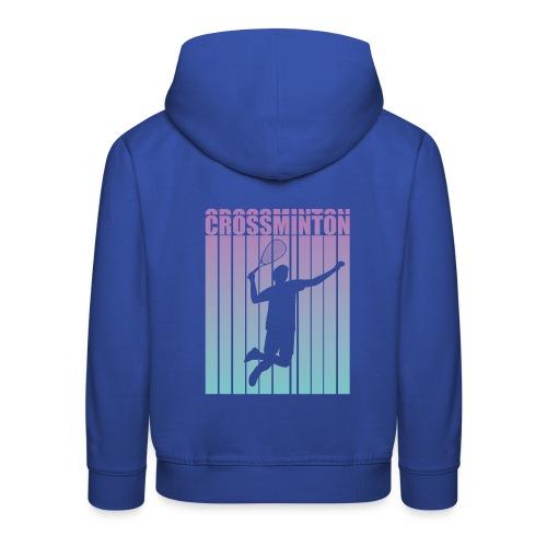 Crossminton - Speed badminton - Kids' Premium Hoodie