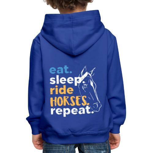 Pferd. - Kinder Premium Hoodie