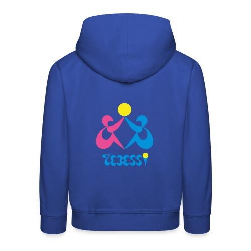 Logo Tebessy Soleil - Pull à capuche Premium Enfant