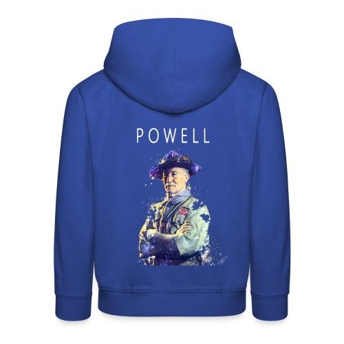 Powell -blanc- - Pull à capuche Premium Enfant