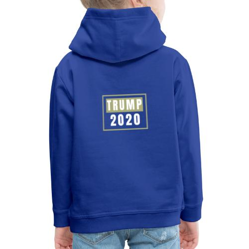 TRUMP 2020 - Bluza dziecięca z kapturem Premium