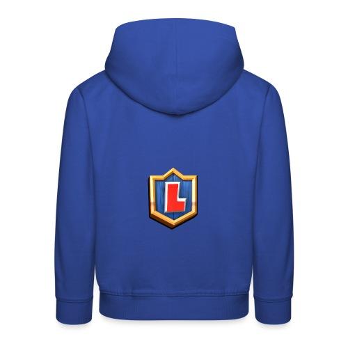 LuFresh Logo Rot - Kinder Premium Hoodie