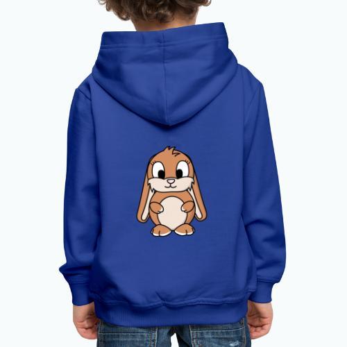 Lily Bunny - Appelsin - Premium-Luvtröja barn