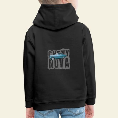 nova - Premium hættetrøje til børn