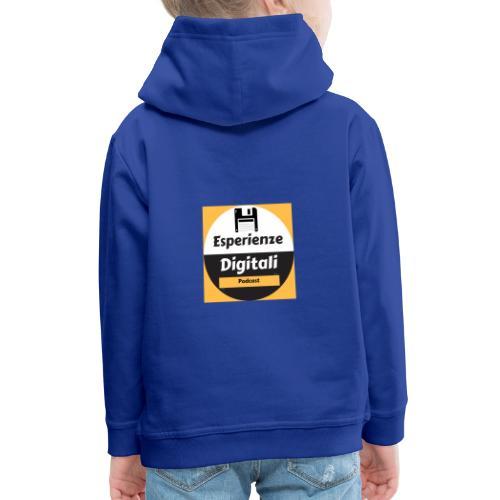 Logo Esperienze Digitali - Felpa con cappuccio Premium per bambini