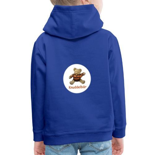 Teddybär Knuddelbär Schmusebär Teddy orange braun - Kinder Premium Hoodie