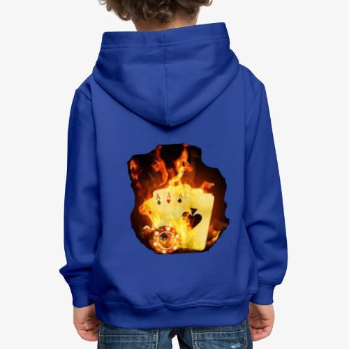 Flamme THE TEXAS HOLDEM - Kinder Premium Hoodie