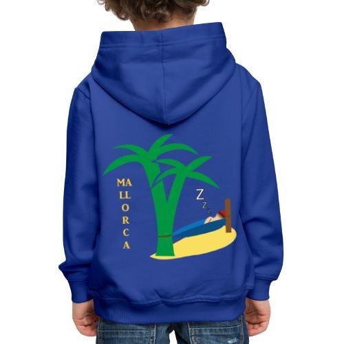 Mallorca - Urlaub unter Palmen - Kinder Premium Hoodie
