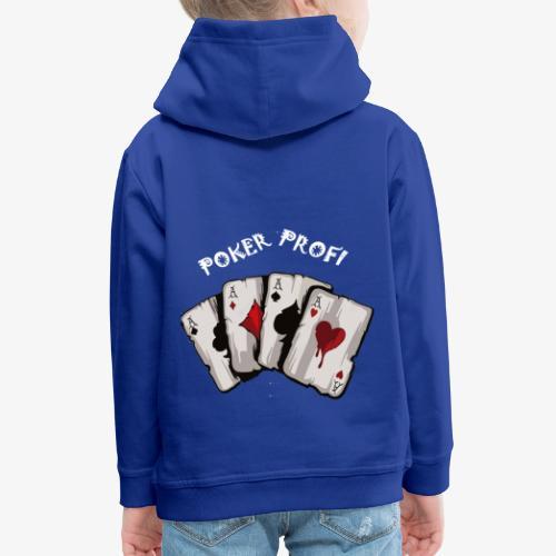 Pokerprofi TEXAS HOLDEM - Kinder Premium Hoodie