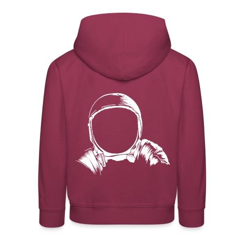 Astronauten Helm - Kinder Premium Hoodie