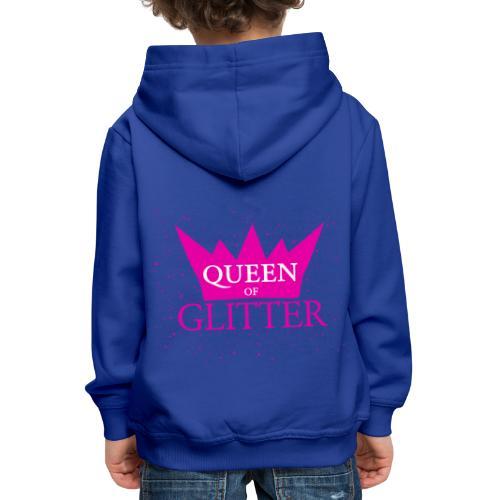 Königin des Glitzer - Kinder Premium Hoodie