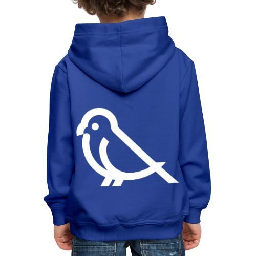 bird weiss - Kinder Premium Hoodie