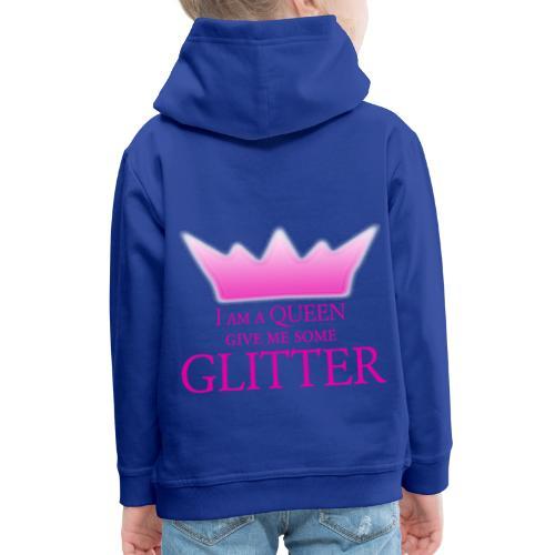 Glitter Queen - Kinder Premium Hoodie