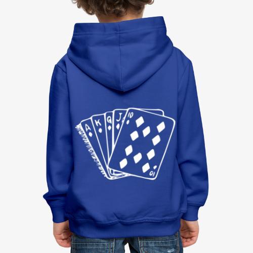 Royal FLUSH - Kinder Premium Hoodie