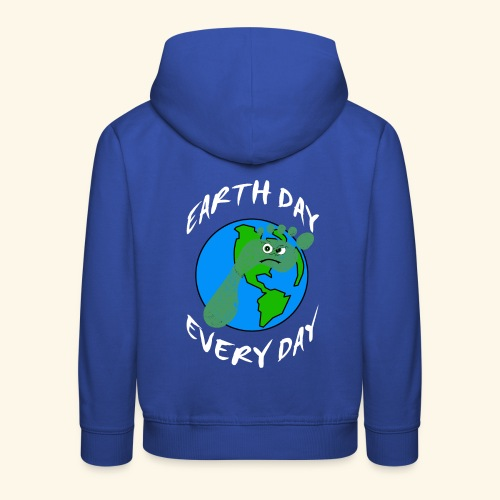 Earth Day Every Day - Kinder Premium Hoodie