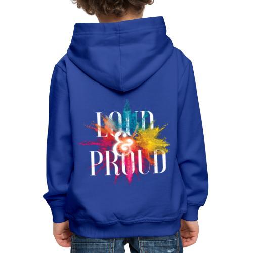 loudandproud - Kinder Premium Hoodie