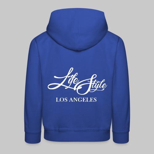 LIFESTYLE Los Angeles 2reborn wh - Kinder Premium Hoodie