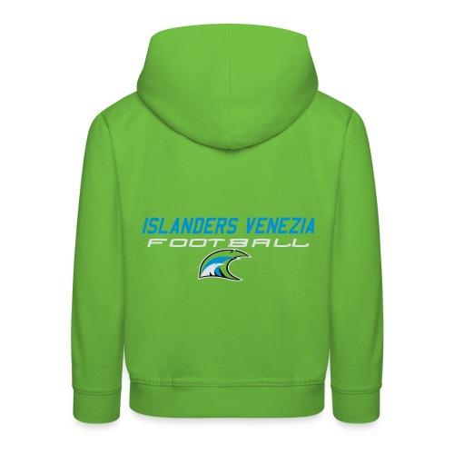 islanders football new logo - Felpa con cappuccio Premium per bambini