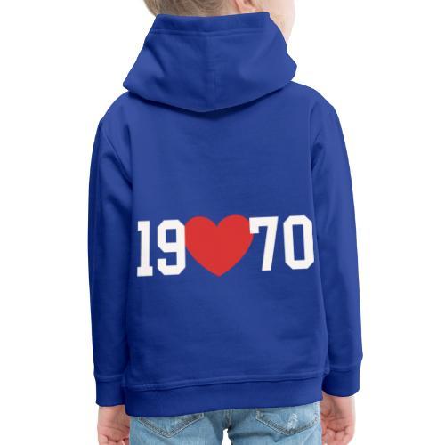 19 heart 70 - Kinder Premium Hoodie