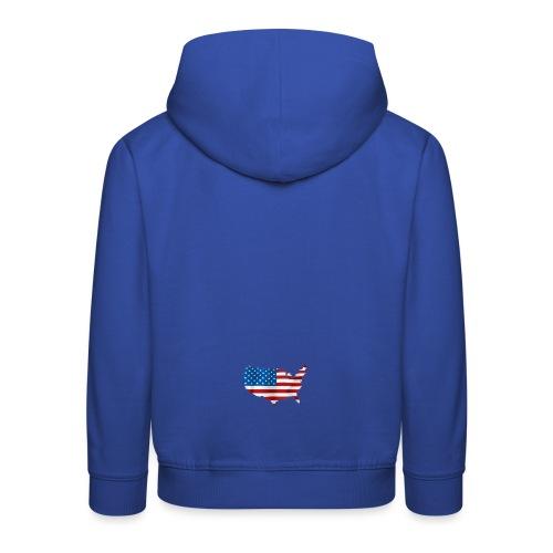 AMERICAN - Pull à capuche Premium Enfant