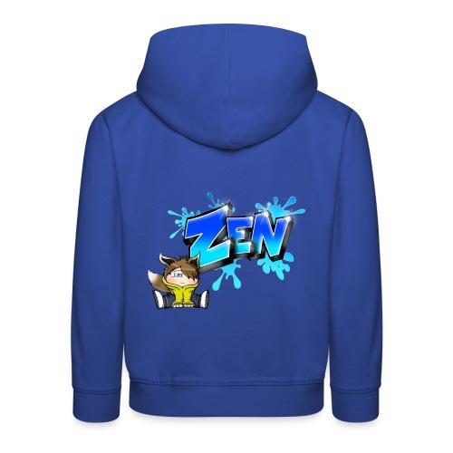 Graffiti Zen printable - Pull à capuche Premium Enfant