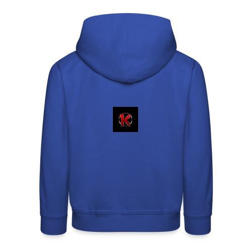Logo - Premium hættetrøje til børn