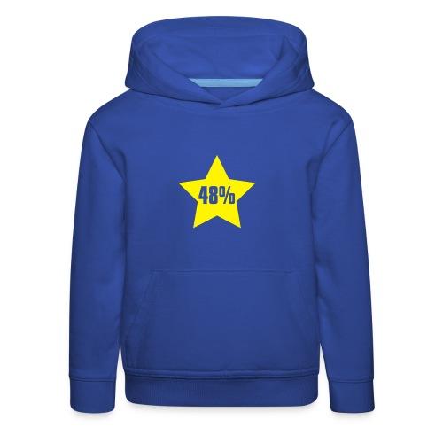 48% in Star - Kids' Premium Hoodie