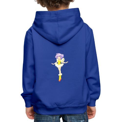 creamy - Felpa con cappuccio Premium per bambini