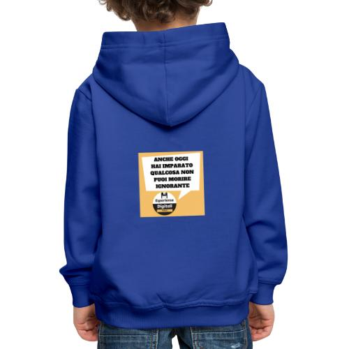 fumetto - Felpa con cappuccio Premium per bambini