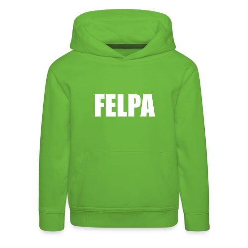FELPA - Felpa con cappuccio Premium per bambini