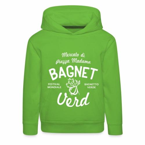 Festival Bagnetto verde2 - Felpa con cappuccio Premium per bambini