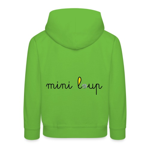 miniLoupamo - Pull à capuche Premium Enfant